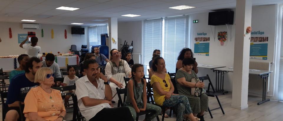 Le projet Solid'âge concrétisé – un très beau court-métrage intergénérationnel réalisé par les habitants du bel-âge et les jeunes de la cité ambrosini, Marseille 14ème